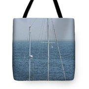 Moored In Matanzas Bay Tote Bag