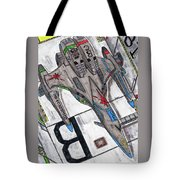 Moored Shift Colors Tote Bag