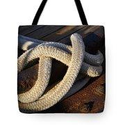 Mooring Rope Made Fast Tote Bag