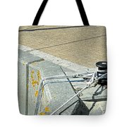 Mooring Ropes - Ryde Harbour Tote Bag