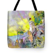 Moorish Castle In Sintra 01 Tote Bag