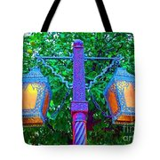 Moorish Lantern Tote Bag