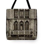 Moorish Style Windows Venice Monotone_dsc1450_02282017 Tote Bag