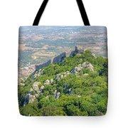 Moors Castle Aerial Tote Bag