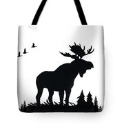 Moose Nature Tote Bag