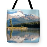 Moose On The Lake Tote Bag