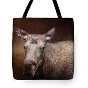 Moose Portrait Tote Bag