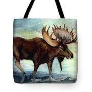 Moose Reflections Tote Bag