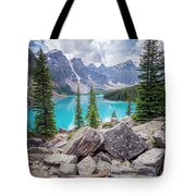 Moraine Lake Afternoon II Tote Bag