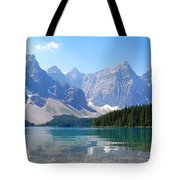 Moraine Lake Down Low Tote Bag