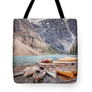 Moraine Lake Transportation  Tote Bag