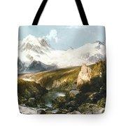 Moran: Teton Range, 1897 Tote Bag