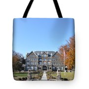 Moravian College Tote Bag by Bill Cannon