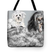 More Best Buds Tote Bag