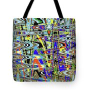 More Colors Abstract Tote Bag