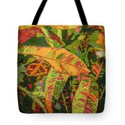 More Fern Abstraction Tote Bag