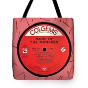 More Of The Monkees Lp Label Tote Bag