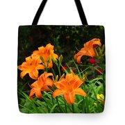 More Orange Daylilies Tote Bag
