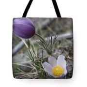 More Purple Flowers Tote Bag
