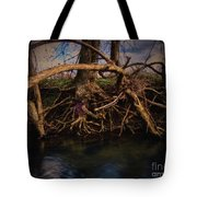 More Roots In Creek Tote Bag