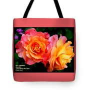 More Roses For Anne Catus 1 No. 1 H A Tote Bag