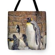 More Snow - King Penguin Tote Bag