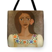 More Than Flowers She Sold Illusions Tote Bag