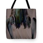 Morgan Alone Tote Bag