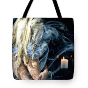 Morgan In Smoke Tote Bag