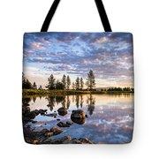 Morgan Lake Sunrise Tote Bag