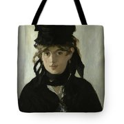 Morisot With A Bouquet Of Violets Tote Bag