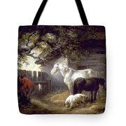 Morland: Farmyard, 1792 Tote Bag