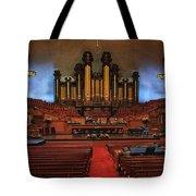 Mormon Meeting Hall Tote Bag