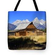 Mormon Row Barn 2 Tote Bag
