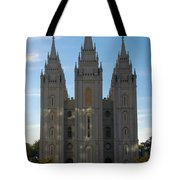 Mormon Temple Fall Tote Bag