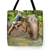Morning Ablutions 3 Tote Bag