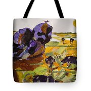 Morning Activities Tote Bag