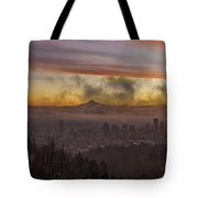 Morning After Christmas Day Tote Bag