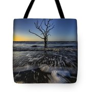 Morning At Botany Bay Plantation Tote Bag