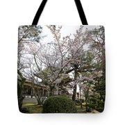 Morning At Horyu-ji Temple Tote Bag