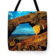 Morning At Landscape Arch Tote Bag