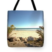 Morning At Qgunquit Beach. Tote Bag