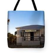 Morning At Sebastian Inlet In Florida Tote Bag