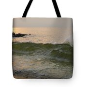 Morning At The Edge Of The Continent Tote Bag
