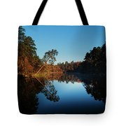 Morning At The Lake Tote Bag