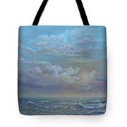 Morning At The Ocean Tote Bag