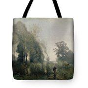 Morning At Ville Davray Tote Bag
