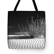 Morning At White Sands  Tote Bag