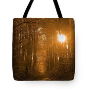 Morning Awaits Tote Bag