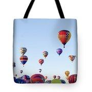 Morning Ballon Rise Tote Bag